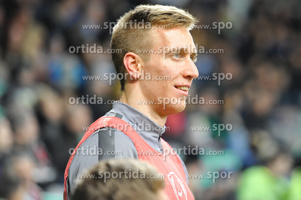 Robert Beric of Slovenia during football match between NationalTeams of Slovenia and San Marino in Round 5 of EURO 2016 Qualifications, on March 27, 2015 in SRC Stozice, Ljubljana, Slovenia. Photo by Mario Horvat / Sportida