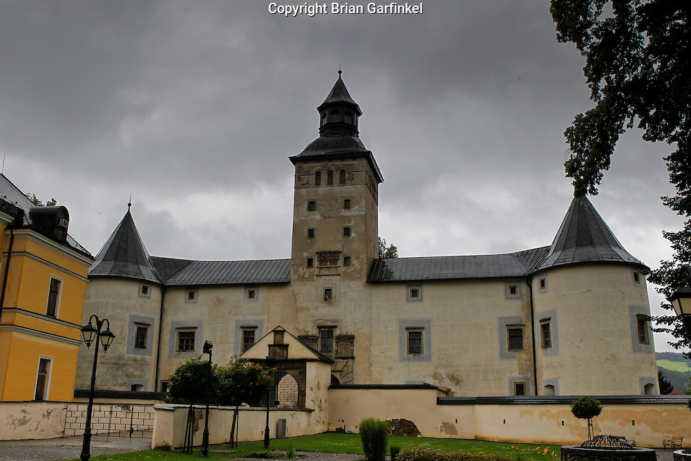 The Bytca Castle in Bytca, Slovakia on Sunday July 3rd 2011. (Photo by Brian Garfinkel)