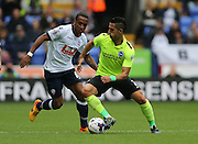Brighton central midfielder, Beram Kayal in action during the Sky Bet Championship match between Bolton Wanderers and Brighton and Hove Albion at the Macron Stadium, Bolton, England on 26 September 2015.