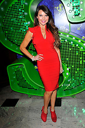 """Lizzie Cundy attends the Shrek """"Children in need"""" Performance, Theatre Royal, Drury Lane, Covent Garden, London, UK, November 14, 2012. Photo by Chris Joseph / i-Images."""
