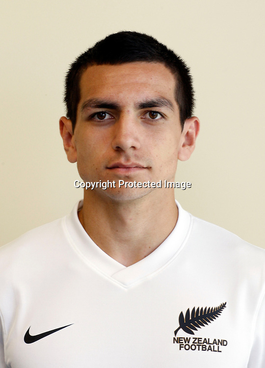 Nikko Boxall. New Zealand Football U-20 Junior All Whites Head Shots, North Harbour Stadium Albany, Monday 11th April 2011. Photo: Shane Wenzlick