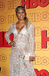 Laverne Cox at the 2017 HBO's Post Emmy Awards Reception held at the Pacific Design Center in West Hollywood, USA on September 17, 2017.
