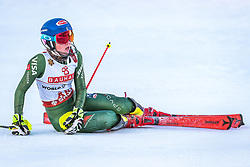 16.02.2019, Aare, SWE, FIS Weltmeisterschaften Ski Alpin, Slalom, Damen, 2. Lauf, im Bild Mikaela Shiffrin (USA) // Mikaela Shiffrin of the USA during her 2nd run for the ladie's Slalom of FIS Ski World Championships 2019. Aare, Sweden on 2019/02/16. EXPA Pictures © 2019, PhotoCredit: EXPA/ Dominik Angerer