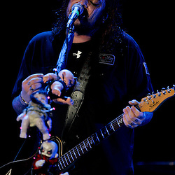 17 April, 2009: Shaun Morgan of Seether performs on stage as one of the opening acts in support of Nickelback's new album 'Dark Horse' for their 2009 concert tour stop at the New Orleans Arena in New Orleans, Louisiana.