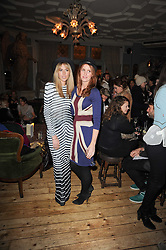 Left to right, Aiden Aldred and Denise Higgins at a party to celebrate the 1st anniversary of Alice Temperley's label held at Paradise, Kensal Green, London W10 on 25th November 2010.