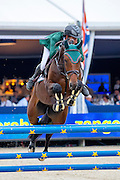 Santiago Nunez Riva - Recesvinto<br /> FEI World Breeding Jumping Championships for Young Horses 2016<br /> © DigiShots