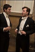 TOM VERBIES; BOUDEWIIJN WIJNANDS, Oxford University Polo club Ball, Blenheim Palace. Woodstock. 6 March 2015