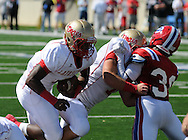 Lafayette High's Jamel Dennis (6) vs. Evangel Christian in Shreveport, La.  on Saturday, September 10, 2011. Lafayette High won 35-34.