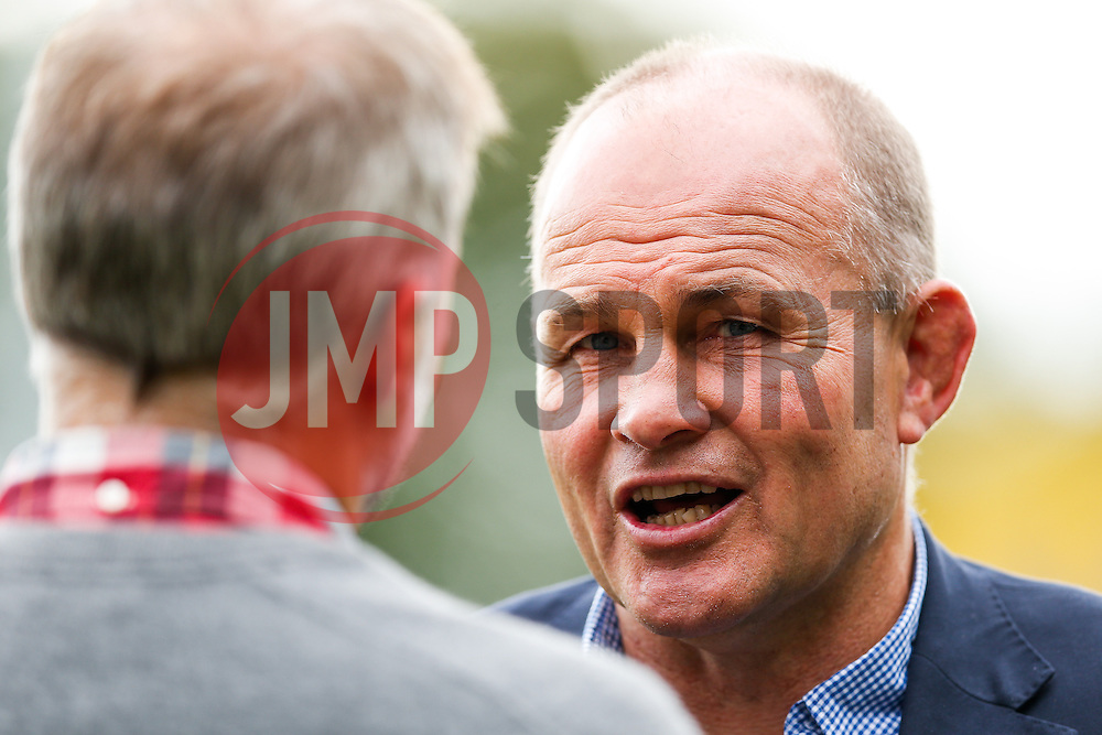 Bristol Director of Rugby Andy Robinson is interviewed after his side record a 13-26 victory - Photo mandatory by-line: Rogan Thomson/JMP - 07966 386802 - 14/09/2014 - SPORT - RUGBY UNION - Leeds, England - Headingley Carnegie Stadium - Yorkshire Carnegie v Bristol Rugby - Greene King IPA Championship.