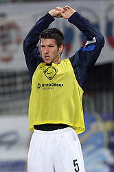 Bostjan Cesar of Slovenia before the 8th day qualification game of 2010 FIFA WORLD CUP SOUTH AFRICA in Group 3 between Slovenia and Czech Republic at Stadion Ljudski vrt, on March 28, 2008, in Maribor, Slovenia. Slovenia vs Czech Republic 0 : 0. (Photo by Vid Ponikvar / Sportida)