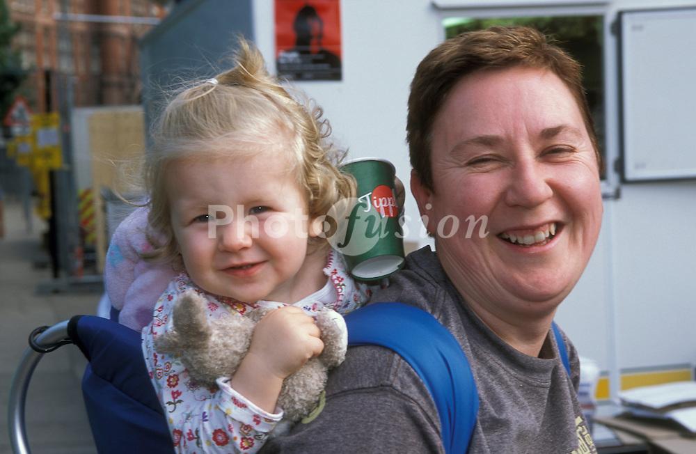 Woman & baby girl UK