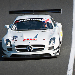 Fortec, Benji Hetherington & Ollie Hancock, Mercedes AMG SLS GT3, GT3 during qualifying and practice at the first round of the Avon Tyres British GT Championship held at Oulton Park, Cheshire, UK on the 30th March 2013 WAYNE NEAL | STOCKPIX.EU