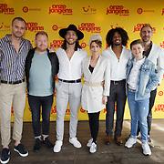 NLD/Amsterdam/20190501 - Perspresentatie cast Onze Jongens in Miami, cast