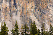 El Capitan detail, Yosemite National Park, California