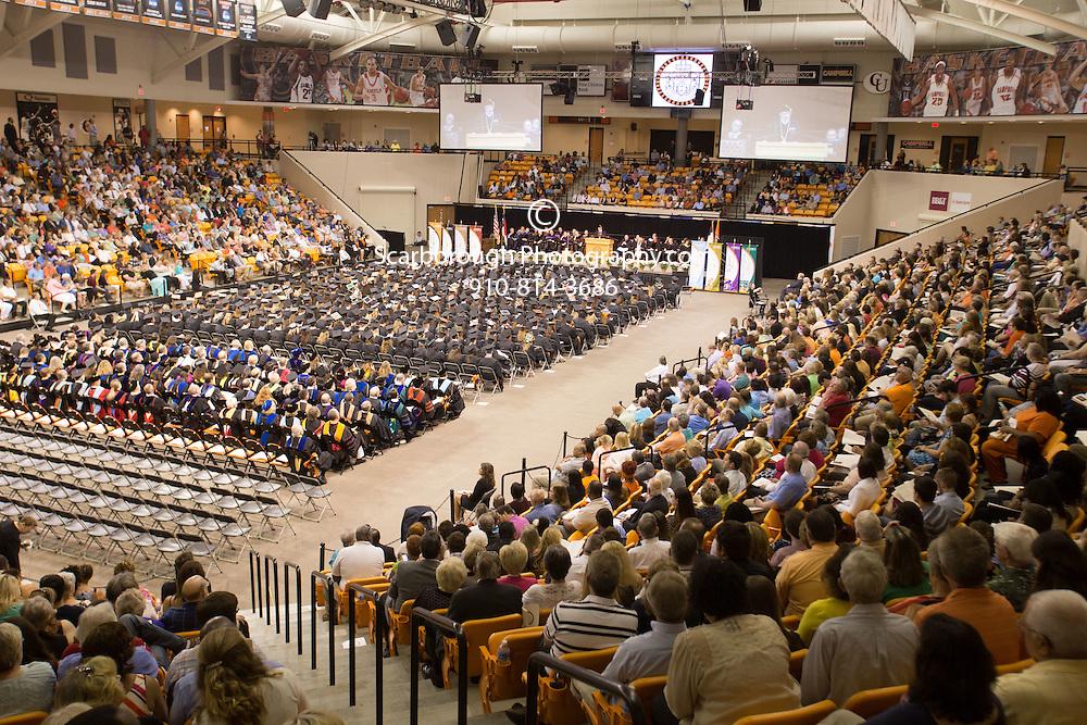 2015 Campbell University Graduation Ceremony