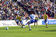 28.05.2004, Ratina Stadium, Tampere, Finland..Friendly International match, Finland v Sweden.Jari Litmanen scores for Finland from the penalty spot after 9 minutes.©Juha Tamminen