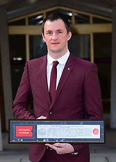 FEB 03 2014 James Wharton receives Freedom of the City of London