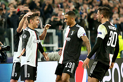 November 26, 2019, Turin, Italy: 10 paulo dybala (juventus) happinessduring Tournament round - Juventus FC vs Atletico Madrid, Soccer Champions League Men Championship in Turin, Italy, November 26 2019 - LPS/Claudio Benedetto (Credit Image: © Claudio Benedetto/LPS via ZUMA Wire)