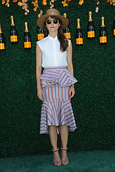 June 3, 2017 - Jersey City, NJ, USA - June 3, 2017 Jersey City, NJ..Keri Russell attending the Veuve Cliquot Polo Classic at Liberty State Park on June 3, 2017 in Jersey City, NJ. (Credit Image: © Kristin Callahan/Ace Pictures via ZUMA Press)