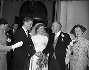 30/06/1958 <br /> 06/30/1958<br /> 30 June 1958<br /> <br /> Wedding, O'Sullivan/Keohan at Church of Assumption, Booterstown