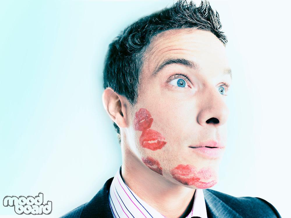 Kissed Businessman