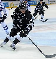 Ishockey<br /> NHL USA<br /> 04.10.2011<br /> Foto: Witters/Digitalsport<br /> NORWAY ONLY<br /> <br /> Anze Kopitar (Kings)<br /> <br /> Eishockey, Compuware NHL Challenge, Hamburg Freezers - Los Angeles Kings