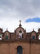 Detail from the Cathedral Basilica of the Assumption of the Virgin, Plaza de Armas, Cusco, Peru