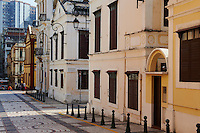 Chine, Macao, Rua do Alfonso Albuquerque // China, Macau,  do Alfonso Albuquerque street