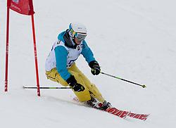 23.01.2012, Planai, Schladming, AUT, FIS Alpin Ski Weltcup, Slalom Herren, Sporthilfe Ski for Gold Promirennen, im Bild der ehemalige Skistar Michaela Dorfmeister // former Skistar Michaela Dorfmeister at the Sporthilfe Ski for Gold VIP Race during the FIS World Cup Alpine Skiing at the 'Planai', Schladming, Austria on 2012/01/23, EXPA Pictures © 2012, PhotoCredit: EXPA/ Erwin Scheriau