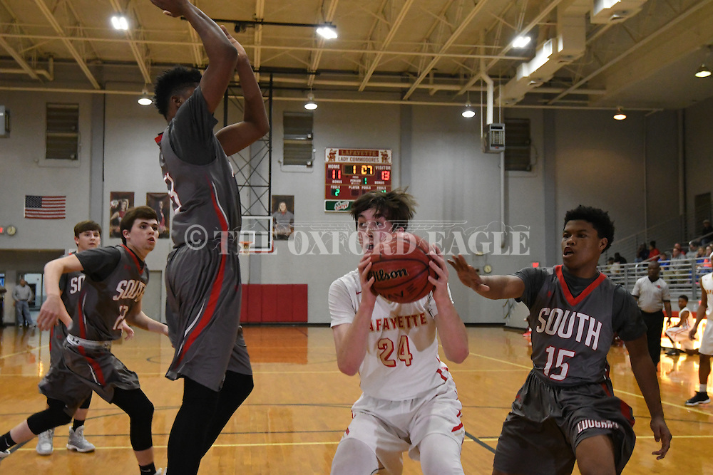 Lafayette High vs. South Pontotoc in Oxford, Miss. on Tuesday, January 3, 2017.
