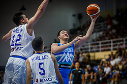 Prepelic  Bine of Slovenia during basketball match between National teams of Greece and Slovenia in the Group Phase C of FIBA U18 European Championship 2019, on July 29, 2019 in  Nea Ionia Hall, Volos, Greece. Photo by Vid Ponikvar / Sportida