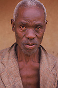Old African Man Portrait
