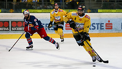 12.04.2019, Albert Schultz Halle, Wien, AUT, EBEL, Vienna Capitals vs EC Red Bull Salzburg, Halbfinale, 7. Spiel, im Bild Ali Wukovits (Vienna Capitals) // during the Erste Bank Icehockey 7th semifinal match between Vienna Capitals and EC Red Bull Salzburg at the Albert Schultz Halle in Wien, Austria on 2019/04/12. EXPA Pictures © 2019, PhotoCredit: EXPA/ Alexander Forst