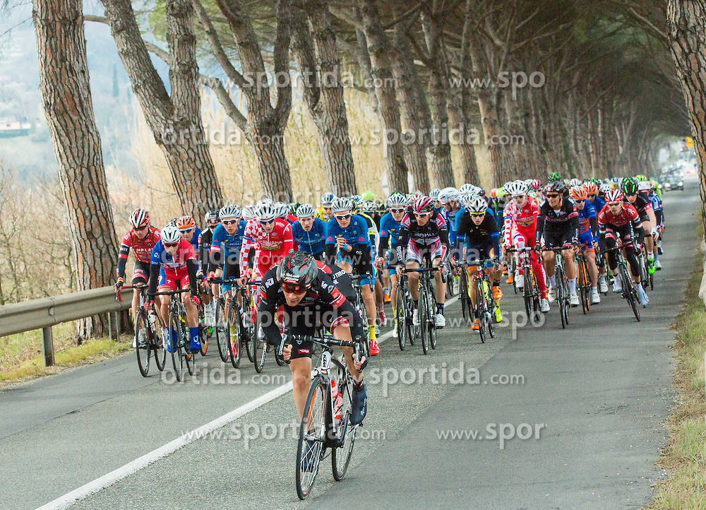 Peloton during UCI Class 1.2 professional race 2nd Grand Prix Izola, on March 1, 2015 in Izola / Isola, Slovenia. Photo by Vid Ponikvar / Sportida