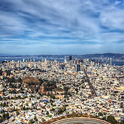 View of San Francisco from Twin Peaks. Photo by Jennifer Rondinelli Reilly.