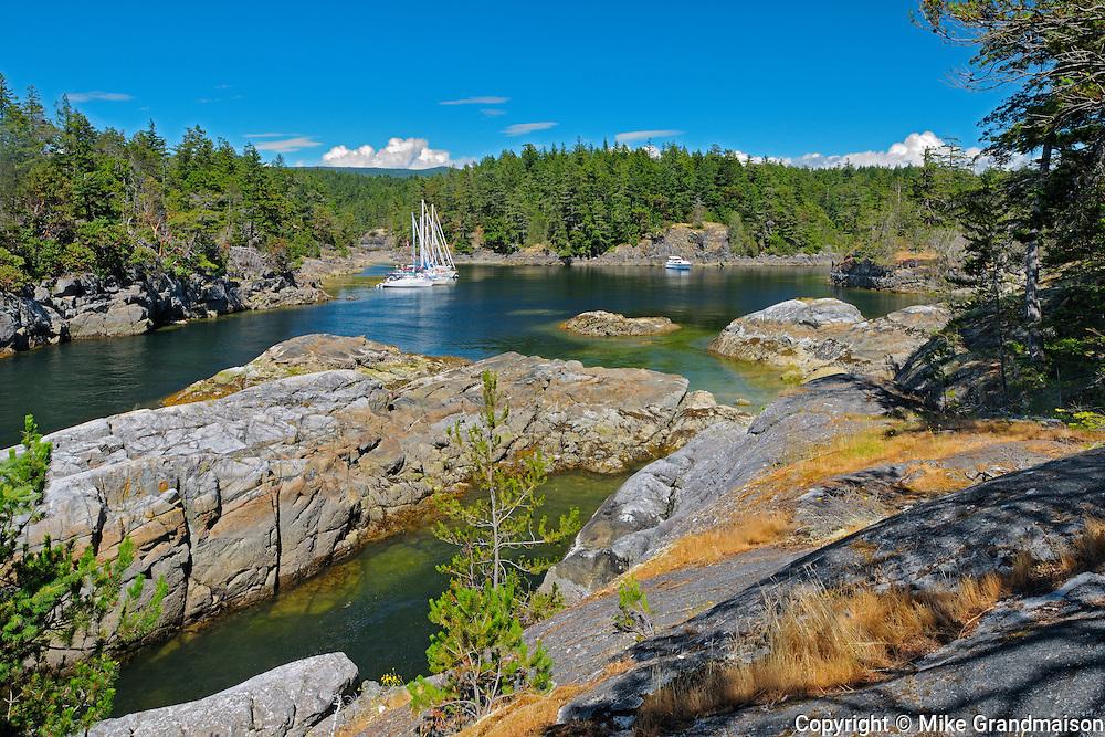 near Sechelt<br /> Smuggler Cove Marine Provincial Park<br /> British Columbia<br /> Canada
