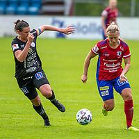 2020-07-29 | Vittsjö, Sverige: Vittsjö GIK (15) Nellie Persson under matchen i OBOS Damallsvenskan mellan Vittsjö GIK och IK Uppsala på Vittsjö IP ( Foto av: Henrik Eberlund | Swe Press Photo )<br /> <br /> Nyckelord: Vittsjö, Fotboll, OBOS Damallsvenskan, Vittsjö IP, Vittsjö GIK, IK Uppsala, HEVU200729