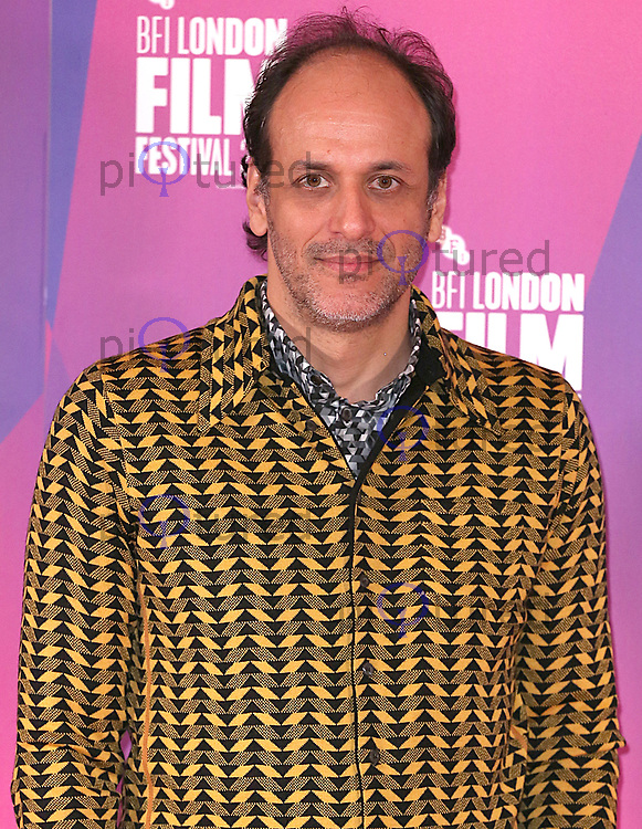 Luca Guadagnino, BFI London Film Festival Photocall - Call Me By Your Name, The May Fair Hotel, London UK, 09 October 2017, photo by Brett D. Cove