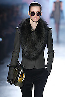 Marte Mei van Haaster walks down runway for F2012 Jason Wu's collection in Mercedes Benz fashion week in New York on Feb 10, 2012 NYC