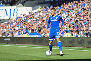 Anthony Pilkington of Cardiff City during the EFL Sky Bet Championship match between Cardiff City and Leeds United at the Cardiff City Stadium, Cardiff, Wales on 17 September 2016. Photo by Andrew Lewis.