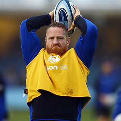 Ross Batty of Bath Rugby during the Gallagher Premiership match between Bath Rugby and Sale Sharks at the The Recreation Ground Bath England.2nd December 2018,(Photo by Steve Haag Sports)