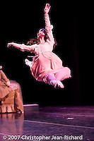 "Karina Gonzalez of Tulsa Ballet performing in ""Romeo and Juliet"".choreography: Michael Smuin"