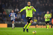 David McGoldrick (Sheffield United) in action during the Premier League match between Brighton and Hove Albion and Sheffield United at the American Express Community Stadium, Brighton and Hove, England on 21 December 2019.