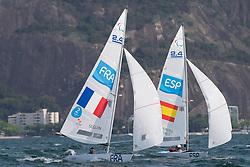 SEGUIN Damien, FRA, 1 Person Keelboat, 2.4mR, Sailing, Voile, MONTES VORCY Arturo, ESP à Rio 2016 Paralympic Games, Brazil
