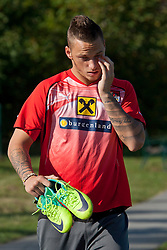 04.10.2011, Bad Tatzmannsdorf, AUT, OeFB, Nationalmannschaft Teamtraining, im Bild Marco Arnautovic, EXPA Pictures © 2011, PhotoCredit: EXPA/ Erwin Scheriau