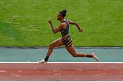 Lorraine Ugen (Great Britain), Women's Long Jump, during the IAAF Diamond League event at the King Baudouin Stadium, Brussels, Belgium on 6 September 2019.
