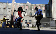 Dancers perform at the Hudson River Day celebration in Poughkeepsie.  ( Photo by Randall K. Wolf )