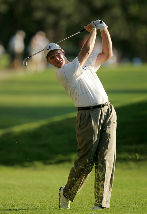 PINEHURST, NORTH CAROLINA - JUNE 16, 2005<br /> Ernie ELS during the 1st Round of the 2005 U.S. Open Championship, held at Pinehurst No.2 in the Village of Pinehurst, North Carolina.