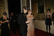 Nick Knight and his wife Charlotte, The Moet and Chandon Fashion Tribute 2006 Honouring British Photographer Nick Knight. Strawberry Hill House. Twickenham. 24 October 2006. -DO NOT ARCHIVE-© Copyright Photograph by Dafydd Jones 66 Stockwell Park Rd. London SW9 0DA Tel 020 7733 0108 www.dafjones.com