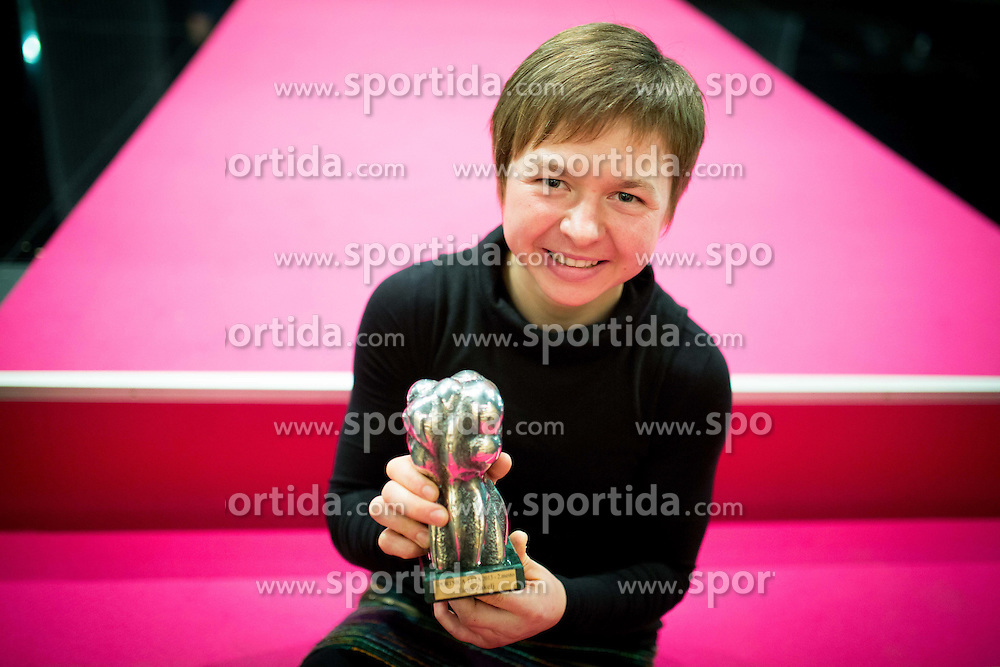 Tanja Zakelj at Slovenian Sports personality of the year 2013 annual awards presented on the base of Slovenian sports reporters, on December 19, 2013 in Cankarjev dom, Ljubljana, Slovenia.  Photo by Vid Ponikvar / Sportida